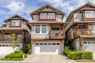 "Photo 1: 14 2381 ARGUE Street in Port Coquitlam: Citadel PQ Townhouse for sale in ""THE BOARD WALK"" : MLS®# R2380699"