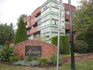 "Main Photo: 111 12025 207A Street in Maple Ridge: Northwest Maple Ridge Condo for sale in ""THE ATRIUM"" : MLS®# R2403331"