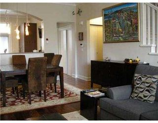"""Photo 4: 995 W 38TH Avenue in Vancouver: Cambie Townhouse for sale in """"HAMLIN MEWS"""" (Vancouver West)  : MLS®# V918301"""