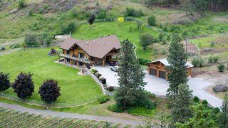 Main Photo: 2735 Green Lake Rd in Okanagan Falls: Green Lake Road House for sale