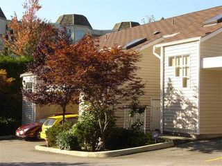 "Photo 1: 40 1235 JOHNSON Street in Coquitlam: Canyon Springs Townhouse for sale in ""CREEKSIDE PLACE"" : MLS®# V1050979"