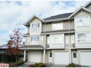 """Photo 1: 13 5255  201A ST in Langley: Langley City Townhouse for sale in """"Kensington Court"""" : MLS®# F1128048"""
