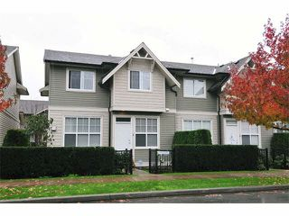 "Photo 1: 5 11720 COTTONWOOD Drive in Maple Ridge: Cottonwood MR Townhouse for sale in ""COTTONWOOD GREEN"" : MLS®# V1106840"