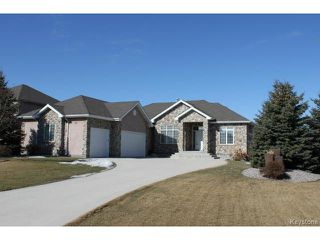 Photo 1: 20 GLENWOOD Way in ESTPAUL: Birdshill Area Residential for sale (North East Winnipeg)  : MLS®# 1505614