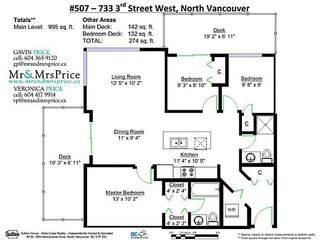 "Photo 20: 507 733 W 3RD Street in North Vancouver: Hamilton Condo for sale in ""THE SHORE"" : MLS®# V1134598"