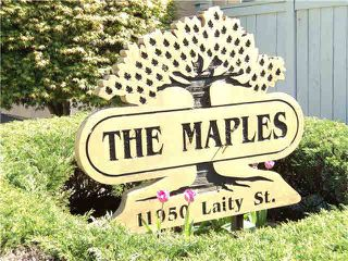 "Photo 20: 20 11950 LAITY Street in Maple Ridge: West Central Townhouse for sale in ""THE MAPLES"" : MLS®# V1137328"