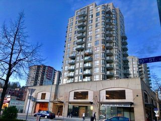 """Photo 1: 504 55 TENTH Street in New Westminster: Downtown NW Condo for sale in """"WESTMINSTER TOWERS"""" : MLS®# R2248585"""