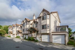 """Photo 1: 15 2352 PITT RIVER Road in Port Coquitlam: Mary Hill Townhouse for sale in """"Shaughnessy Estates"""" : MLS®# R2284697"""