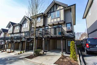 "Main Photo: 20 20176 68 Avenue in Langley: Willoughby Heights Townhouse for sale in ""STEEPLECHASE"" : MLS®# R2349465"