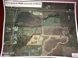 Main Photo: RR280 South of Hwy 16: Rural Parkland County Rural Land/Vacant Lot for sale : MLS®# E4157847