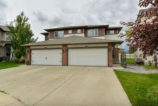 Main Photo: 6039 SUNBROOK Landing: Sherwood Park House Half Duplex for sale : MLS®# E4164690