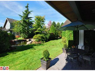 "Photo 9: 7 15715 34TH Avenue in Surrey: Morgan Creek Townhouse for sale in ""The Wedgewood"" (South Surrey White Rock)  : MLS®# F1124398"