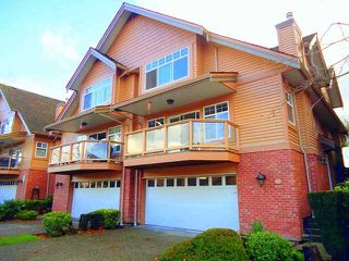 "Photo 1: 4 5201 OAKMOUNT Crescent in Burnaby: Oaklands Townhouse for sale in ""HARTLANDS"" (Burnaby South)  : MLS®# V921209"