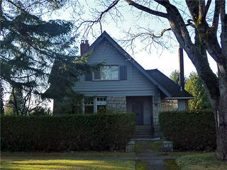 "Photo 1: 5087 CONNAUGHT DR in Vancouver: Shaughnessy House for sale in ""Shaughnessy"" (Vancouver West)  : MLS®# V1038064"