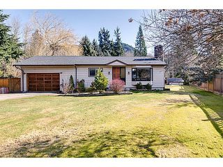 "Photo 1: 41550 GOVERNMENT Road in Squamish: Brackendale House for sale in ""BRACKENDALE"" : MLS®# V1051640"