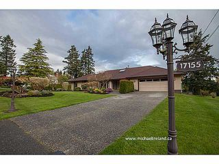 Photo 1: 17155 26A Avenue in Surrey: Grandview Surrey House for sale (South Surrey White Rock)  : MLS®# F1409954