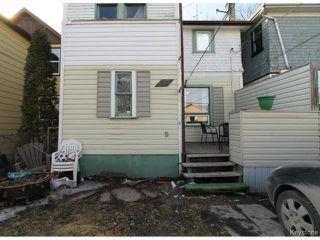 Photo 18: 757 Ashburn Street in WINNIPEG: West End / Wolseley Residential for sale (West Winnipeg)  : MLS®# 1504084