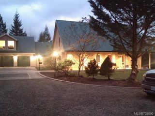 Photo 1: 5491 Langlois Rd in COURTENAY: CV Courtenay North House for sale (Comox Valley)  : MLS®# 703090