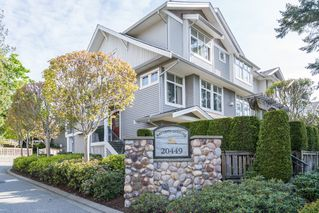 "Photo 1: 17 20449 66 Avenue in Langley: Willoughby Heights Townhouse for sale in ""NATURE'S LANDING"" : MLS®# R2163715"