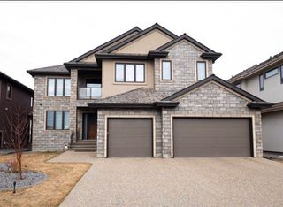 Photo 1: 3654 WESTCLIFF Way in Edmonton: Zone 56 House for sale : MLS®# E4144214