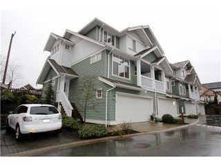 """Photo 1: 18 6785 193RD Street in Surrey: Clayton Townhouse for sale in """"MADRONA"""" (Cloverdale)  : MLS®# F1405903"""