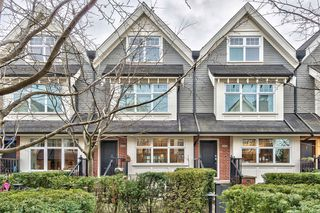 Photo 1: 3850 WELWYN STREET in Vancouver: Victoria VE Townhouse for sale (Vancouver East)  : MLS®# R2136564