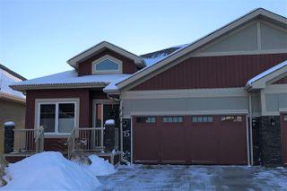 Main Photo: 15 8132 217 Street in Edmonton: Zone 58 House Half Duplex for sale : MLS®# E4140587