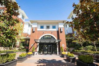 "Photo 1: 201 9399 ODLIN Road in Richmond: West Cambie Condo for sale in ""MAYFAIR"" : MLS®# R2361444"