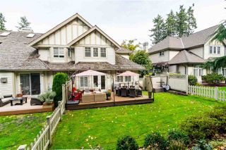 "Photo 1: 20 5811 122 Street in Surrey: Panorama Ridge Townhouse for sale in ""Lakebridge"" : MLS®# R2409221"