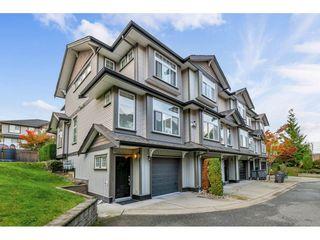 "Photo 1: 13 8757 160 Street in Surrey: Fleetwood Tynehead Townhouse for sale in ""Ryan Villa"" : MLS®# R2412324"