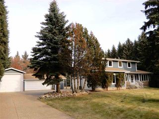 Main Photo: 136 FERNWOOD Crescent: Rural Sturgeon County House for sale : MLS®# E4179153