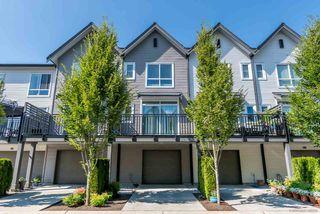 "Photo 1: 18 2358 RANGER Lane in Port Coquitlam: Riverwood Townhouse for sale in ""FREMONT INDIGO"" : MLS®# R2473193"