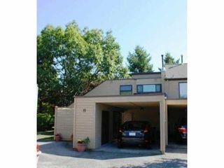 "Photo 1: 19 7491 NO 1 Road in Richmond: Quilchena RI Townhouse for sale in ""QUILCHENA ESTATES"" : MLS®# V908854"