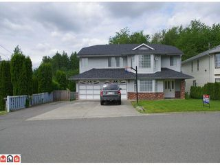 Photo 1: 32577 WILLIAMS AV in Mission: Mission BC House for sale : MLS®# F1201473