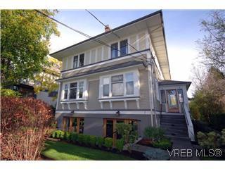 Photo 1: 1 727 Linden Avenue in Victoria: Vi Fairfield West Condo Apartment for sale : MLS®# 285761