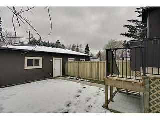Photo 20: 4011 1 Street NW in CALGARY: Highland Park Residential Attached for sale (Calgary)  : MLS®# C3594616
