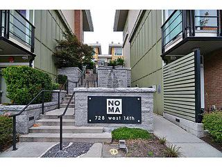 "Photo 1: 33 728 W 14TH Street in North Vancouver: Hamilton Townhouse for sale in ""NOMA"" : MLS®# V1085631"