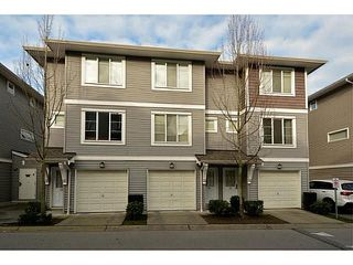 "Photo 1: 34 15155 62A Avenue in Surrey: Sullivan Station Townhouse for sale in ""Oaklands in Panorama Place"" : MLS®# F1442815"