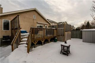 Photo 20: 83 Coombs Drive in Winnipeg: River Park South Residential for sale (2F)  : MLS®# 1801278