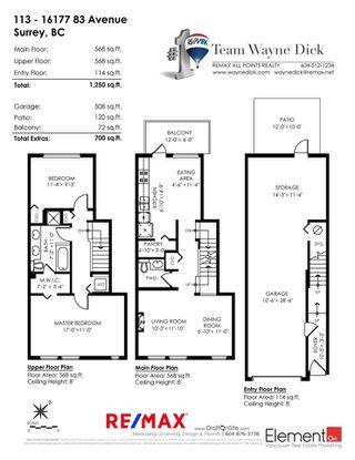 "Photo 20: 113 16177 83 Avenue in Surrey: Fleetwood Tynehead Townhouse for sale in ""VERANDA"" : MLS®# R2297514"