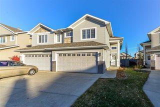 Main Photo: 1508 McMillian Place in Edmonton: Zone 55 House Half Duplex for sale : MLS®# E4134027