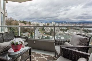 "Photo 18: 703 71 JAMIESON Court in New Westminster: Fraserview NW Condo for sale in ""PALACE QUAY"" : MLS®# R2330240"