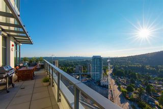 Photo 4: 2704 602 COMO LAKE Avenue in Coquitlam: Coquitlam West Condo for sale : MLS®# R2339062
