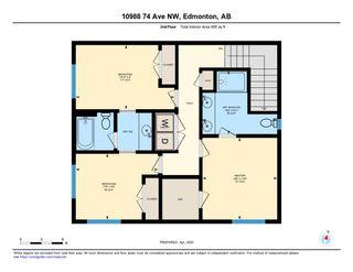 Photo 47: 10988 74 Avenue in Edmonton: Zone 15 House Half Duplex for sale : MLS®# E4209264