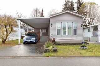 "Photo 1: 142 145 KING EDWARD Street in Coquitlam: Maillardville Manufactured Home for sale in ""MILL CREEK VILLAGE"" : MLS®# R2518910"