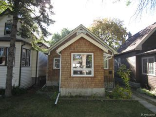 Photo 1: 578 Kylemore Avenue in WINNIPEG: Manitoba Other Residential for sale : MLS®# 1321443