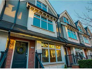 "Photo 1: 3732 WELWYN Street in Vancouver: Victoria VE Townhouse for sale in ""Stories"" (Vancouver East)  : MLS®# V1095770"