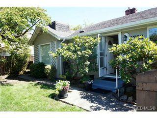 Photo 1: 1723 Albert Avenue in VICTORIA: Vi Fernwood Single Family Detached for sale (Victoria)  : MLS®# 367417