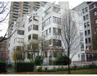 "Photo 1: 1042 NELSON Street in Vancouver: West End VW Condo for sale in ""KELVIN COURT"" (Vancouver West)  : MLS®# V622002"