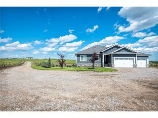 Photo 1: 80049 312 Avenue E: Rural Foothills M.D. House for sale : MLS®# C4096639